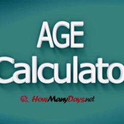 age calculator, age calculation, age calculator online, how to calculate age, age calculator in months, age calculator in days