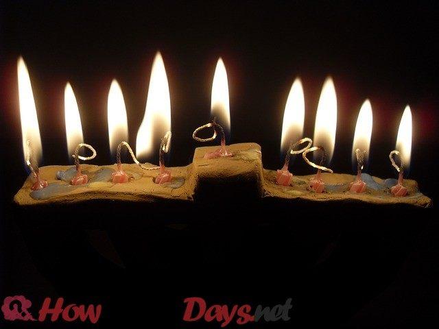 How Many Days in Hanukkah
