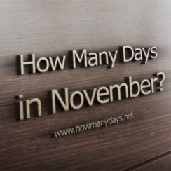 how many days in november, how many days does november have, how many days in november this year, how many days november has