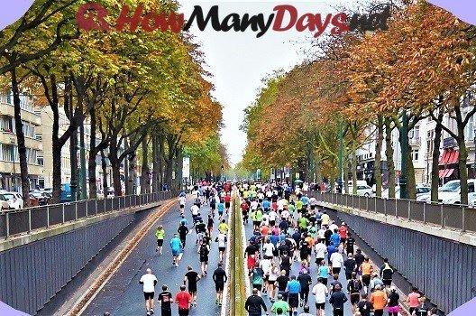 how many days until boston marathon