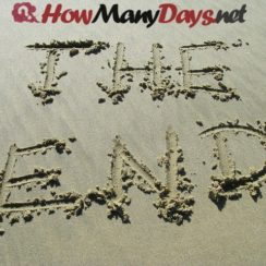 how many days until end of year, how many days until end of the year, days until end of year