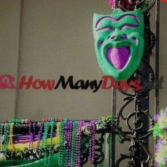 how many days until Mardi Gras