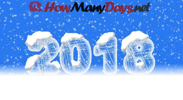 How Many Days in 2018